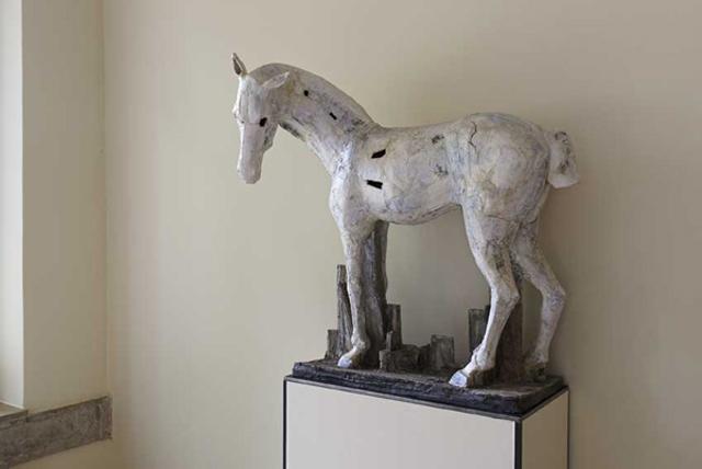 Pferd I zu ludwig dem springer christin mueller keramik