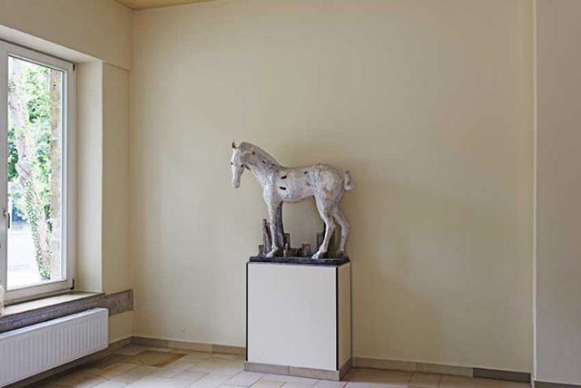Pferd zu ludwig dem springer christin mueller keramik
